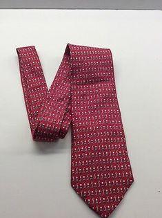 Ted Baker Men/'s Polka Dot Pattern 3 Inch Slim Silk Neck Tie Red