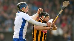 Austin Gleeson and Kilkenny's Richie Hogan battle for possession at Walsh Park Two of today's greats Sports Stars, Hurley, Ireland, Coaching, Battle, Pure Products, Baseball Cards, Park, Sports