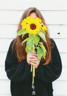 I always love sunflower.   What Your Favorite Flower Says About You | Free People Blog #freepeople