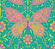 ☮Butterflies Are Free to Fly☮ by Mary Tanana