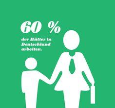 wie viele Mütter arbeiten in Deutschland