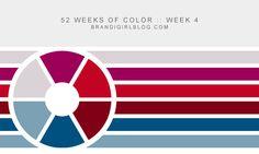 52 Weeks of Color :: Week 4 Reds, Blues