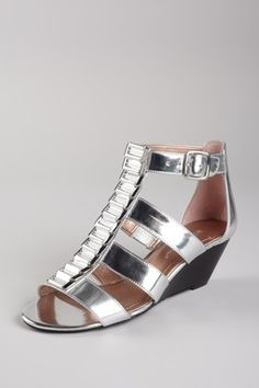 Vandy Gladiator Wedge Sandal