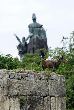 Rostige Ziege in Koblenz