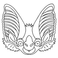 Whether your playing pretend or trick-or-treating, these free printable Halloween masks are tons of fun and easy to make. Better yet, you and the kids might learn more about bats! Bat Activities For Kids, Nature Activities, Stem Activities, Printable Halloween Masks, Printable Masks, Free Printables, Bat Conservation International, Bat Mask, Paper Bat