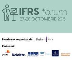 Peter Clark, Directorul Tehnic al IFRS Foundation - International Accounting Standards Board (IASB) este speaker la IFRS Forum