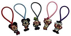 Mickey Mouse and Friends Colorful Hairband Ponytail Holder 5 Pcs Set 2 -- Be sure to check out this awesome product.