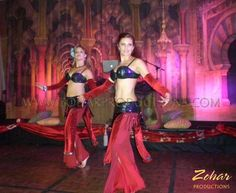 Belly Dancers and other Arabian style entertainment booked through www.ZoharProductions.com  Contact: info@zoharproductions.com