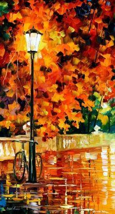 Leonid Afremov, I just absolutely love his work
