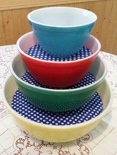Pyrex Bowl/stacking solution