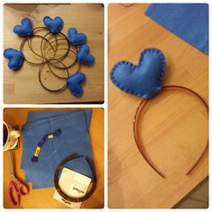 *Love Heart HeadBand* Our First Ever Guide! Super easy party bag project for all Katy Perry fans