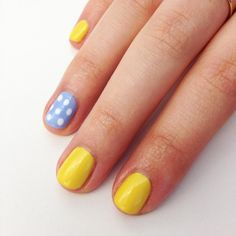 Pin for Later: A Sunny Nail-Art Idea to Try Right Now