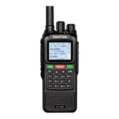 EasyTalk Walkie Talkies Long Range Rechargeable ET-889 10W GPS FRS GMRS Dual Band VHF UHF Amateur Radio with Earpiece Programming Cable, Black * Check out this great product. (This is an affiliate link) Walkie Talkie, Communication Networks, Two Way Radio, Camping Life, Ham Radio, Gift Store, Cable, Channel, Camping Gadgets