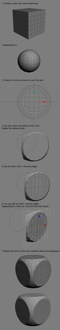 FAQ: How u model dem shapes? Hands-on mini-tuts for mechanical sub-d AKA ADD MORE GEO - Page 40 - Polycount Forum: