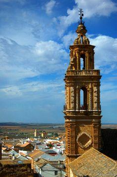 Iglesia y Torre de la Merced, Osuna. Sevilla.
