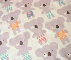 koala-lala custom fabric by for sale on Spoonflower Custom Fabric, Spoonflower, Gift Wrapping, Kids Rugs, Bag Patterns, Digital, Wallpaper, Repeat, Prints