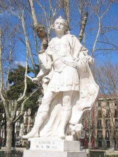 "Alfonso III (c. 848 – December 910), called the Great, was the king of León, Galicia and Asturias from 866 until his death. He was the son and successor of Ordoño I. In later sources he is the earliest to be called ""Emperor of Spain"". He was also titled ""Prince of all Galicia"" (Princeps totius Galletiae)..."
