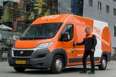 TNT Express 'The People Network' delivery vehicle