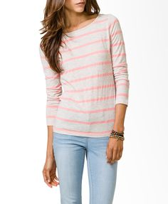Multi Stripes Top - love the blue & yellow