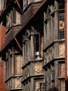 bay windows, St Stephen Street, bristol