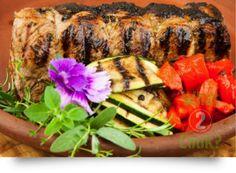 Fragrant Strip-Sirloin Mini Roast with Garlic and Italian Herbs