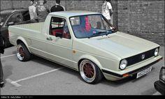 E38 - mk1 caddy on bags by crezo Love OZ Turbo wheels