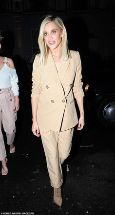 Ashley Roberts SPLITS from Strictly pro Giovanni Pernice Ashley Roberts, Celebs, Celebrities, Peplum Dress, Aesthetics, Autumn, News, Outfits, Dresses