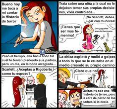 El Turno de Scarlett y su Historia by yamilMIYO