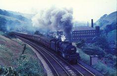 stanier jubilee - Google Search Diesel, Electric, Steam Railway, Abandoned Train, Britain Uk, Steamers, Steam Engine, Steam Locomotive, Locs