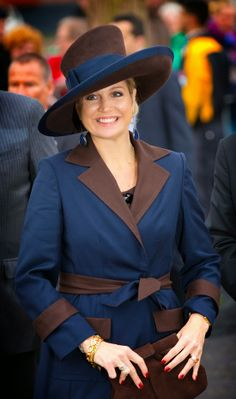 MYROYALS &HOLLYWOOD FASHİON: Queen Maxima attended  the opening of the Campus Hoogvliet in Rotterdam, April 8, 2014