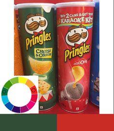 Colores complementarios adyacentes