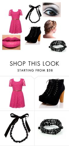 """""""meeting Julian"""" by tardis26 ❤ liked on Polyvore featuring Rare London, Boohoo, Lanvin and Carolee"""