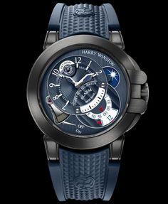 Harry Winston Project Z6 Blue Edition
