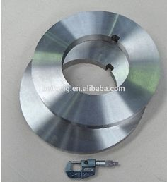 Round paper cutting blade with high precision