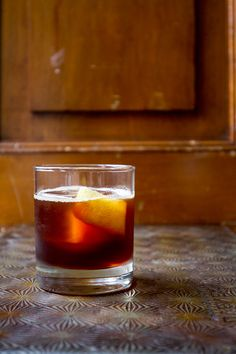 Creole Cocktail - Rye whiskey is paired with bittersweet fortified wine and Bénédictine. | SAVEUR