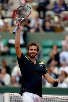 Ernests Gulbis Photos - French Open: Day 10 - Zimbio