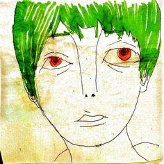 Profile image 01:  green hair man
