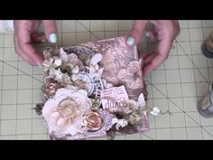 Mixed Media Collage Canvas. DT Project The Piece by Piece - YouTube