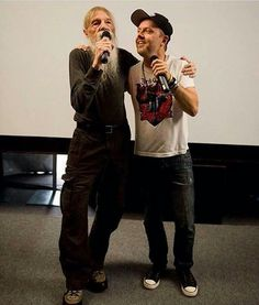 Lars and his father....that's so cute!❤