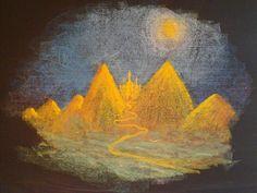 Waldorf ~ 1st grade ~ Letter: M ~ Mountain