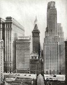 Irving Underhill. Irving Trust Building, 1 Wall Street. NY c1931