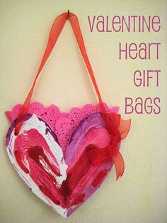 Valentine Heart Gift Bags
