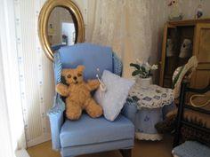My doll house - Blue armchair - Mi casita de muñecas - Butaca azul