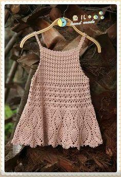 Chorrilho de ideias: Blusa rosa palido em crochet com esquema