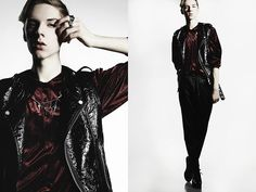Vest, Blouse, Pants, Collar Chain, Ring | Shield your eyes (by Mikko Puttonen) | LOOKBOOK.nu