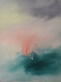 """""""I Thought We Had An Understanding"""" by Maria Mann. Abstract Landscape, Abstract Art, Abstract Paintings, Oil Paintings, Landscape Paintings, Illustrations, Illustration Art, Imagines, Photos"""
