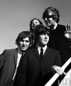 Beatles arrive at LAX for 2nd US tour, 1964