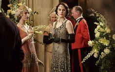 Downton Abbey S5 costumes - via The Telegraph