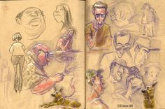 recent sketchbook pages by davidsdoodles.deviantart.com on @deviantART