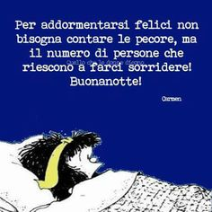 .......buonanotte. .. Persona, Ecards, Memes, Funny, Friends, Pulley, Sleep, Gift, E Cards